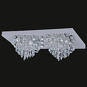 Elegant Click Image Above To Purchase Contemporary Led Ceiling Light With Leds In Crystal Beaded Design