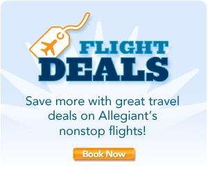 Discount Flights website-Allegiant Air