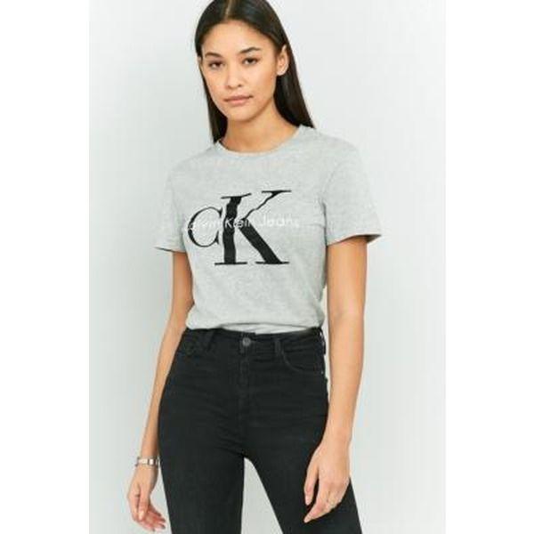 """Calvin Klein - Enges T-Shirt """"True Icon"""" - Damen 34"""