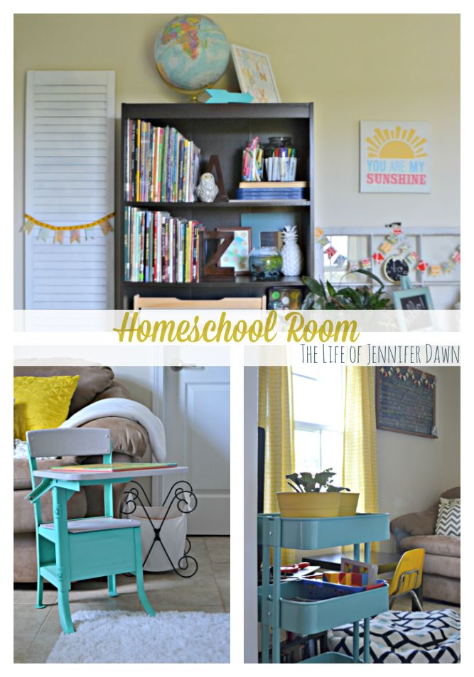 10 Epic Homeschool Room Ideas