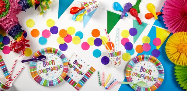 Decorazioni Compleanno radioso su VegaooParty