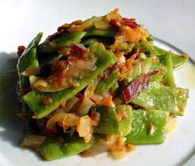 judias verdes fritas