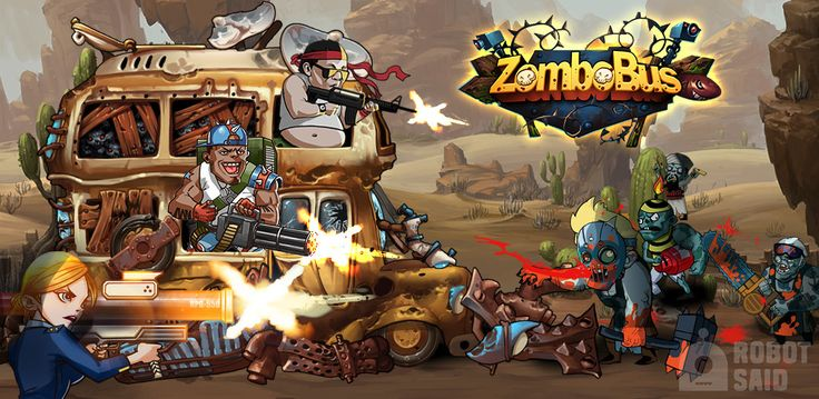 A New Tower-Defense Game - Go for a Ride in Zombobus!