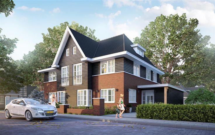 2 onder 1 kap woning voor het Amalia Plantsoen in Barendrecht