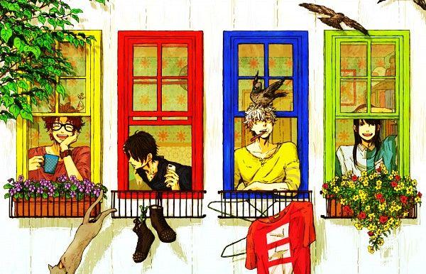 Sakamoto, Shinsuke, Gintoki, and Katsura