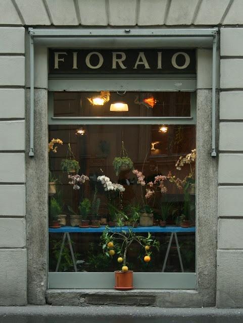 Fioraio Bianchi Caffè   Milano #vintage