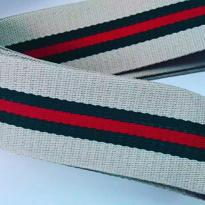Stripe webbing #steipewebbing #custom #customorder #webbing #red #accessories #beatiful #quality #manufacturer #productdesign #toronto #canada #usa #china