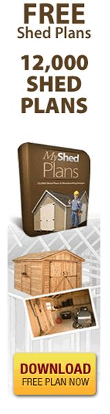 """http://www.100PercentBestChoice.com/shed-plans   """" Building A Shed SHOULD Be Fun & Enjoyable, NOT Frustrating""""    Let me guess:   You've spent 100's possibly 1000's on your first shed project...   You under-estimated the time and energy required to complete it  and you probably wanted to call it quits or start again  because your measurements were all wrong?    My Shed Plans Elite  The Ultimate Shed Plans  oodworking Guide  http://www.youtube.com/watch?v=e_d-jqfnAfE"""