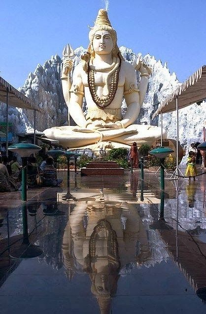 Shiva Mandir Temple in in Murugeshpalya - Bangalore, India