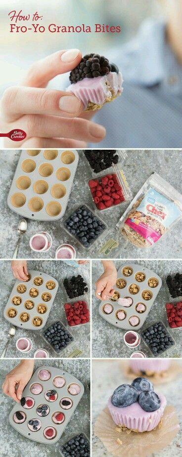 Mrazené jogurtové bombóny