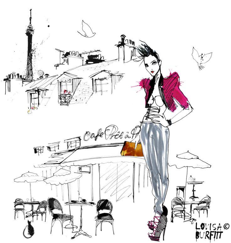 Lovisa Burfitt - Paris, La Parisienne engagée