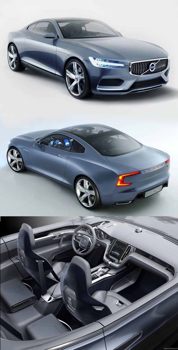 Volvo Coupe Concept 2013 - should be called the P90 @volvo #volvo