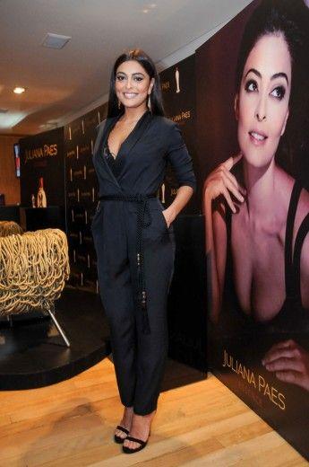 Juliana Paes lançou seu 1º perfume em evento em SP