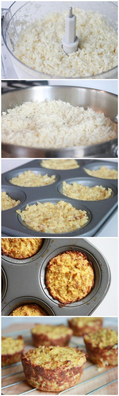 """Paleo Cauliflower """"Biscuits"""" 