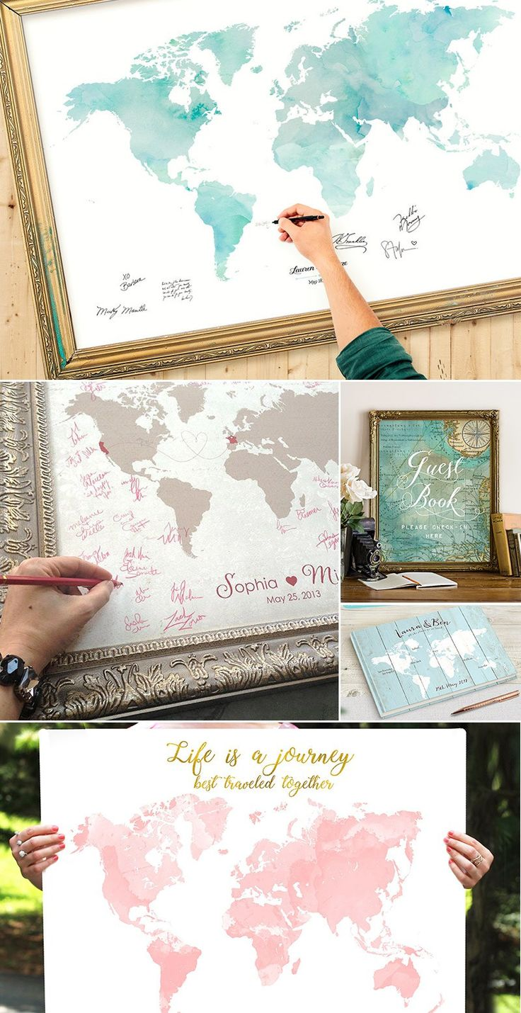#weddingthemes #weddingideas #guestbook Unique Guest Book Idea destination wedding guestbook map sign travel wedding beach | unique guest book ideas | unique guest book ideas for wedding | unique guest book alternatives | Unique Guest Book Ideas | 75+ creative travel themed wedding ideas that inspire