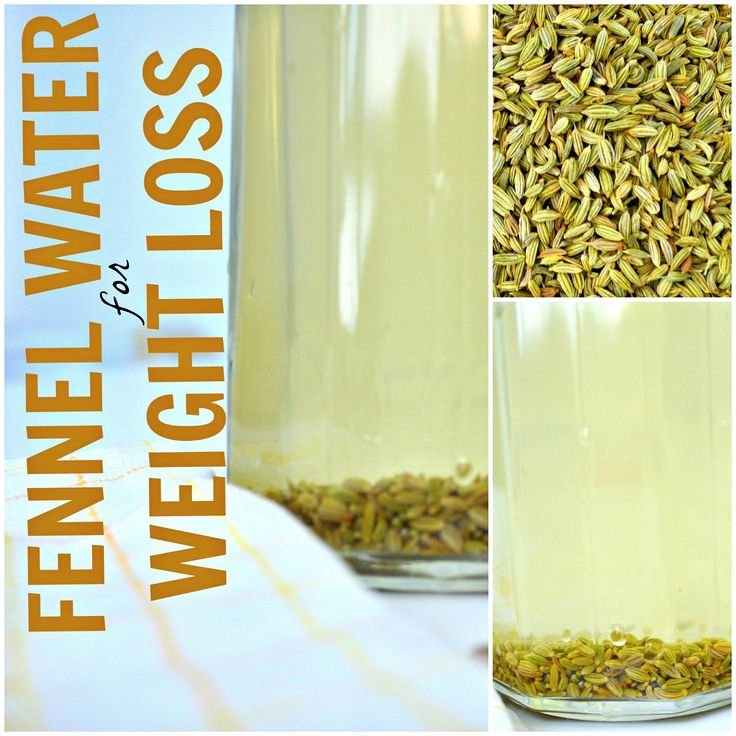Drinking Fennel Seed Water for Weight Loss- I love fennel seed so this is a MUST TRY!