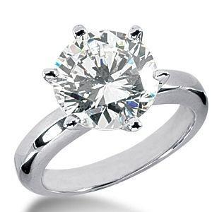 Verlobungsring mit einem 0.40 Karat Diamanten in 585er Weißgold vom Juwelierhaus Abt in Dortmund günstig kaufen.  #diamantring #verlobung #weissgold #diamant #brillant #juwelier #abt #dortmund