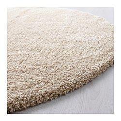"""IKEA - ÅDUM, Rug, high pile, 51 1/8 """", , The dense, thick pile dampens sound and provides a soft surface to walk on.Durable, stain resistant and easy to care for since the rug is made of synthetic fibers."""