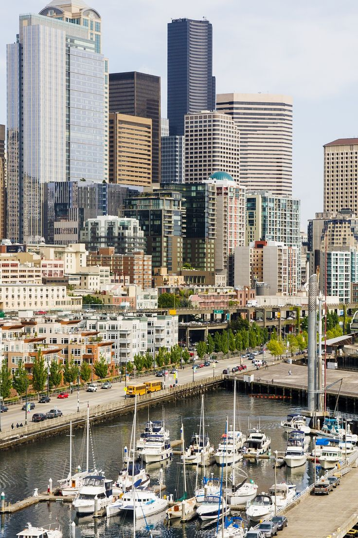 Enjoy beautiful views of Seattle from the