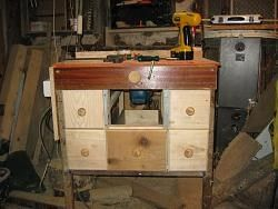 Router Table by connan -- My homemade router...
