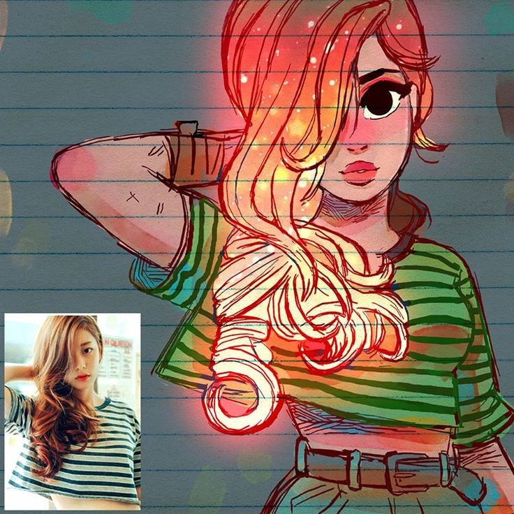 ✨Redhead Glow✨ - Another one of my hair-glow series. After seeing this pic I remembered I haven't done one for red head, so I took the opportunity to finish this one up! I also finally just got back from vacations so I made this one in Photoshop instead of Procreate. I got to say that I do miss some of procreate's features in photoshop...Zooming in and out and changing brushes in Procreate is a breeze... PS has it's own cool things though so I do like them both.  #art #drawing #sketch…