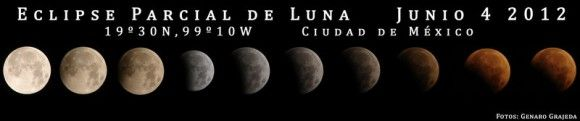 Stunning Partial Lunar Eclipse Images from June 4, 2012