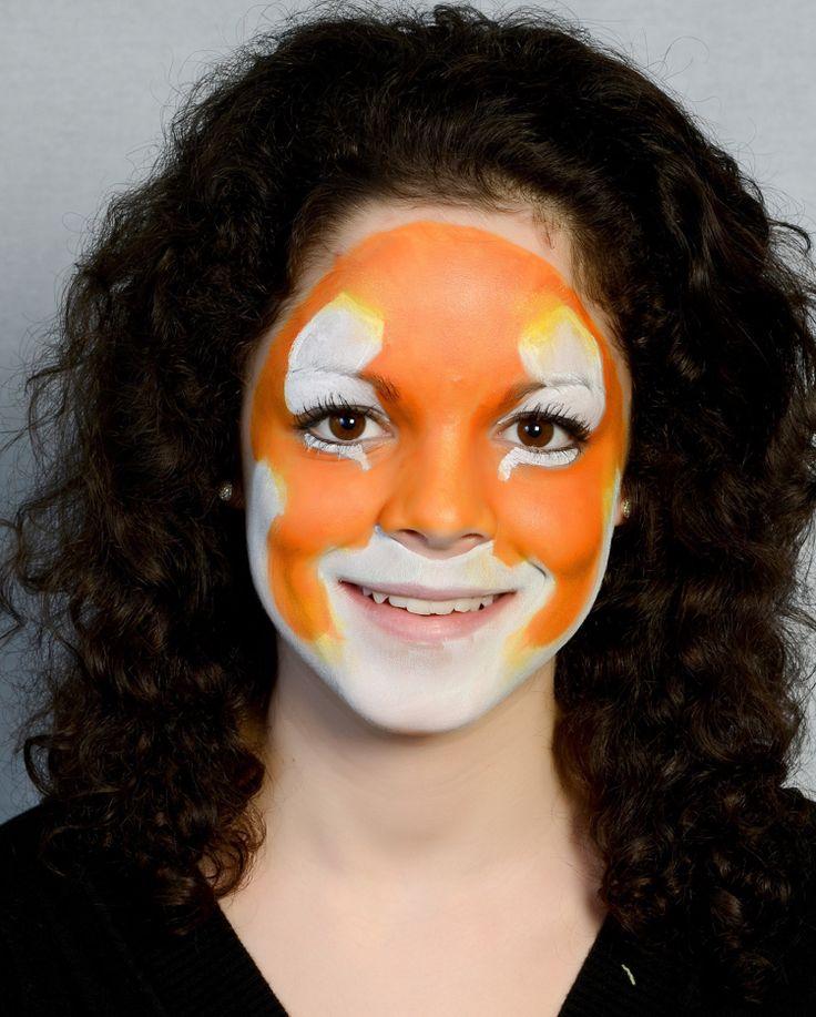 Tiger Gesicht Malen