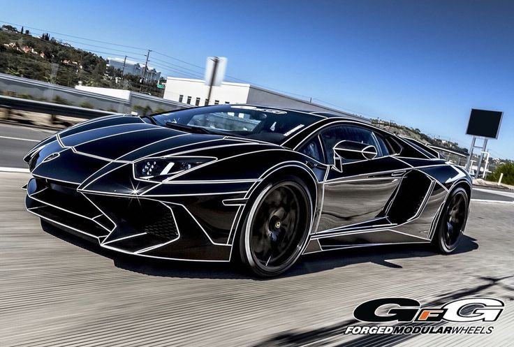Wraps For Cars >> Lamborghini Aventador SV with GFG forged FM877 Wheels ...