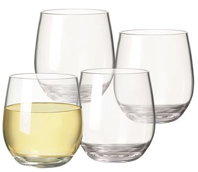 We love the Serroni polycarbonate range as a gift for Mum this Mother's day. Get the best of both worlds, with fine, stylish glass-looking dining pieces, but the practicality of unbreakable acrylicware. These Serroni stemless white wine glasses do just that, with sleek design, they are finer than most acrylic glass sets and are made from a BPA-free high quality polycarbonate that is virtually unbreakable.