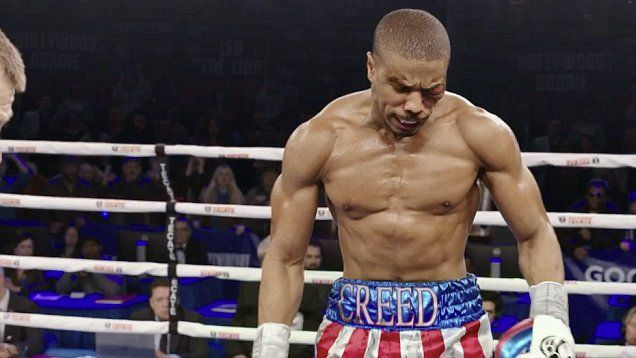 FIRST LOOK: @MichaelB4Jordan reveals ripped physique in trailer for Rocky reboot Creed as he plays Apollo's son opposite @TheSlyStallone.