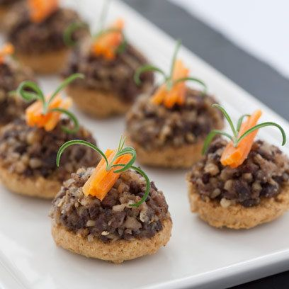 17 best images about haggis on pinterest traditional for Canape quiche recipe