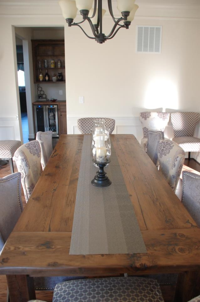 Stunning Reclaimed Wood Table From Concepts Created, Staunton, VA