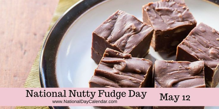 """#NationalNuttyFudgeDay or as I like to say """"Futty Nudge"""""""