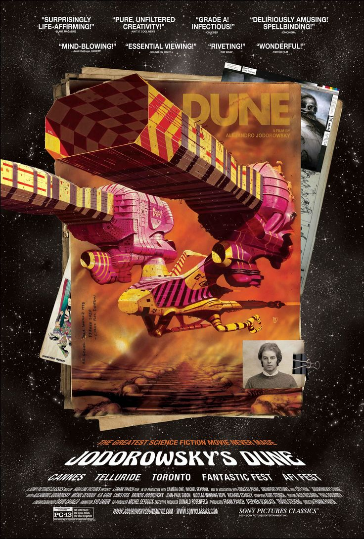 Image result for jodorowsky´s dune