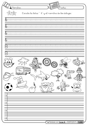 Caligrafia y Autodictado B Montessori