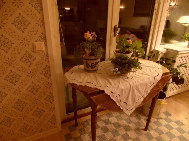 Blommor i fönstret: Söndag