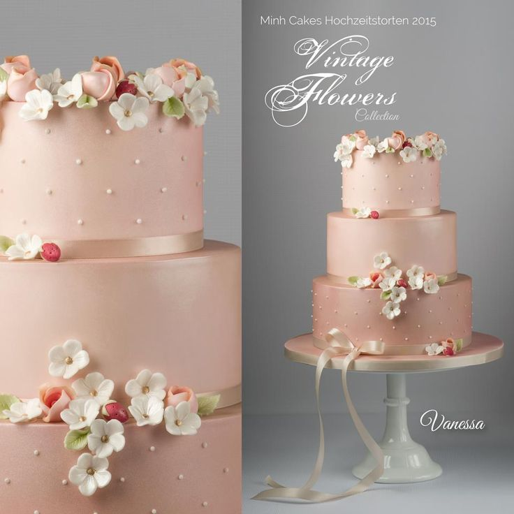 Delicate Cake by Minh Cakes