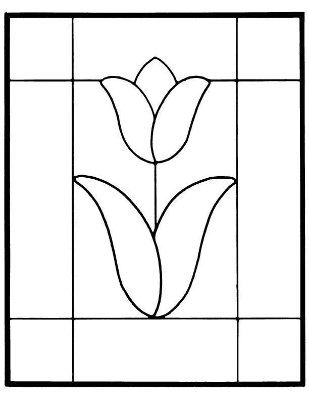 ★ Stained Glass Patterns for FREE ★ glass pattern 772 ★