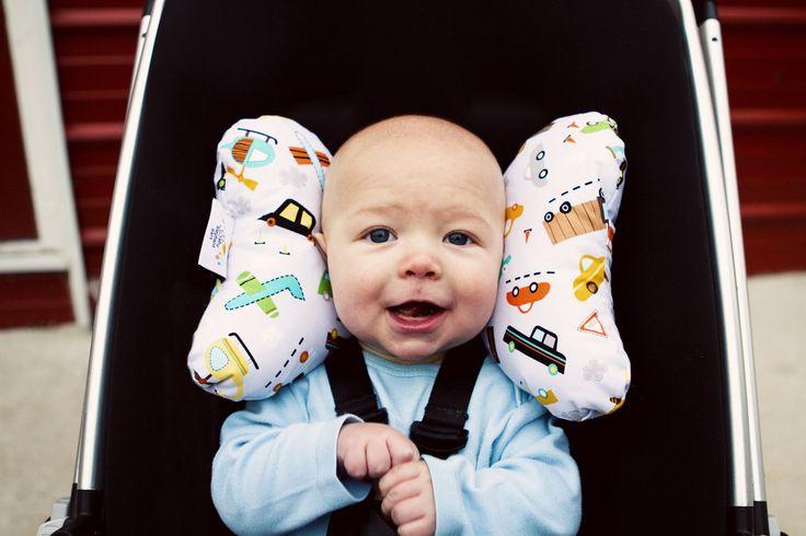 Baby Elephant Ears Neck Pillow Headrest Cushion ONE Size Washable Organic   Funswim
