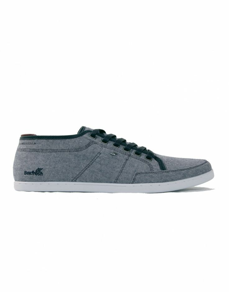 # Sneakers chambray Sparko http://www.letagehomme.com/sneakers-chambray-sparko.html