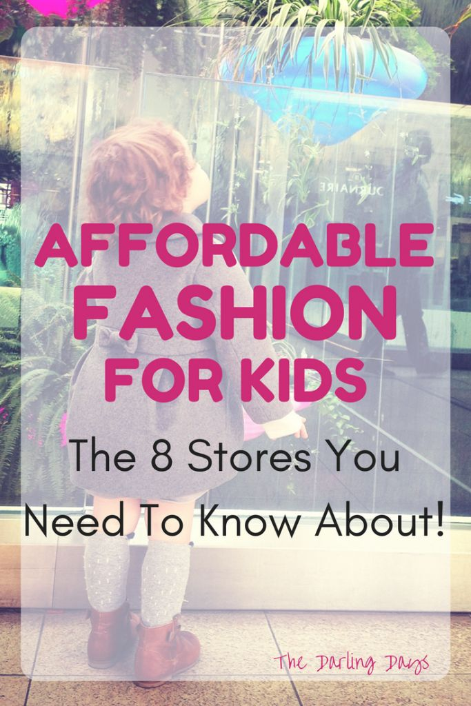 Affordable Children's Clothing Stores | Fashion for Kids | Kid's Fashion | Kid's Clothes on a Budget | Cheap Clothes for Kids | Affordable Outfits for Children | Kid Style | Children's Style