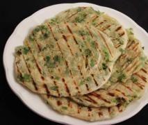 Katmer Ekmek ( türkisches Brot aus der Pfanne gefüllt) Vegan