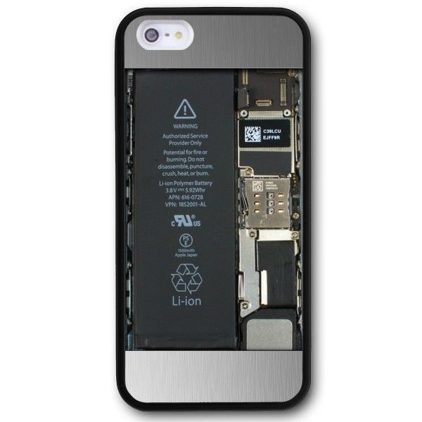 Open Back Case Circuit Custom Design Case iPhone 5 5s #UnbrandedGeneric