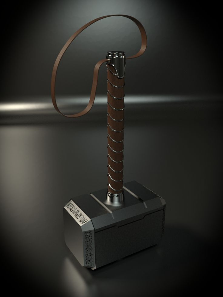 "I did a tutorial from CG Masters on YoutubeI did a tutorial by one of the guy's from CG Masters  on Youtube ""Beginner's Blender Tutorial - Modeling Thor's Hammer Mjolnir"" what a great tutorial and it had everything I needed to finish Mjolnir successfully. I learned a howl bunch of stuff in the process. I enjoyed it a lot. I always wanted my own Mjolnir and what better way to get it then to create my own. I decided to render it into a wallpaper for my Samsung Tab A 9.7. I rendered it in…"