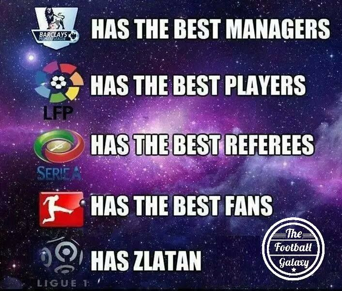 There is only one Zlatan