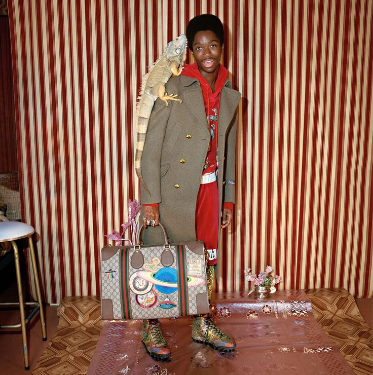 Gucci New Campaign Features Exclusively Black.