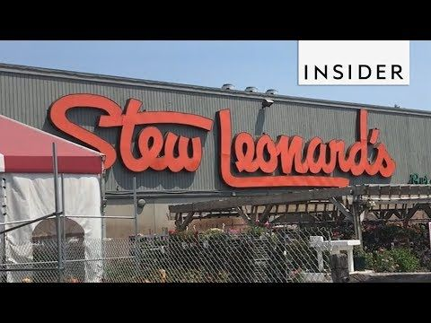 Stew Leonard's Is Part Grocery Store, Part Amusement Park - YouTube
