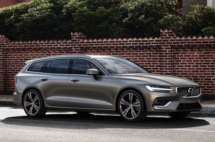 Volvo just debuted its all-new midsize wagon, the 2019 Volvo V60, and yes, it's as pretty as we suspected. But more importantly, it offers a 390 horsepower plug-in hybrid powertrain—you know, in case you want to hoon sensibly.
