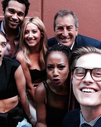 High School Musical Reunion! Ashley Tisdale, Corbin Bleu, Lucas Grabeel, More Attend Event to Support Kenny Ortega