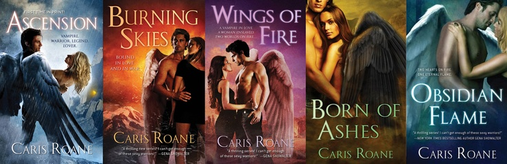 World of Ascension series by Caris Roane